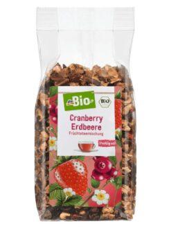 Trà hoa quả khô dmbio Cranberry Erdbeere