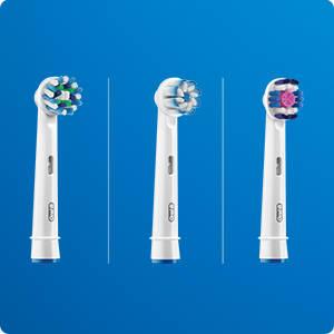 Sử dụng đa dạng các loại đầu bàn chải Oral-B