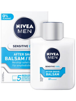 Dưỡng Da Sau Cạo Râu Nivea Men After Shave Balsam Sensitive Cool