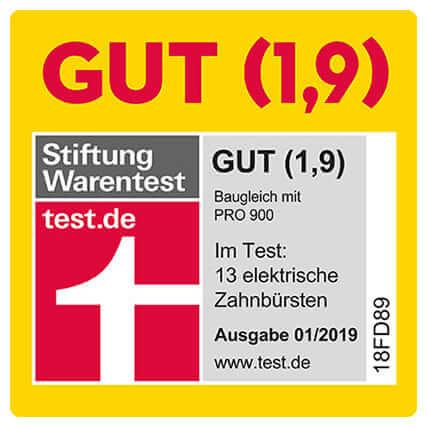 Đánh giá chất lượng của Stiftung Warentest