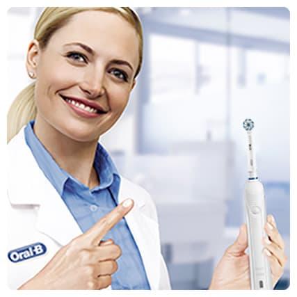 Oral B PRO 1 200 được nha sĩ khuyên dùng