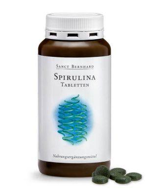 Tảo xoắn Spirulina Tabletten Sanct Bernhard