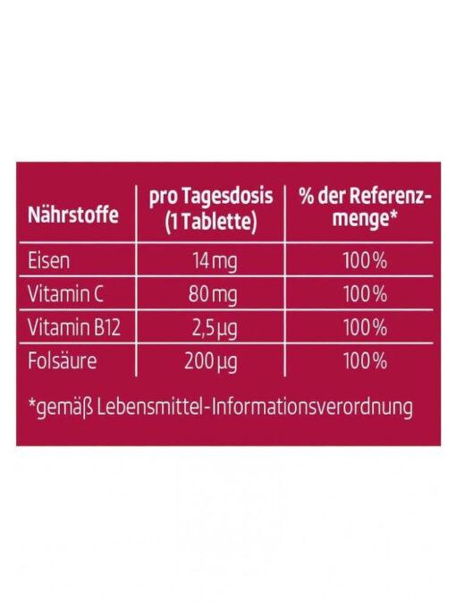 Viên sủi Altapharma Eisen Vitamine