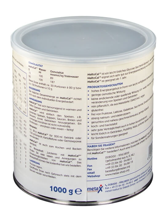 Bột dinh dưỡng Maltocal 19