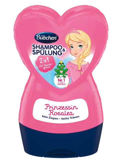 Dầu gội xả Bubchen Shampoo & spulung Prinzessin Rosalea
