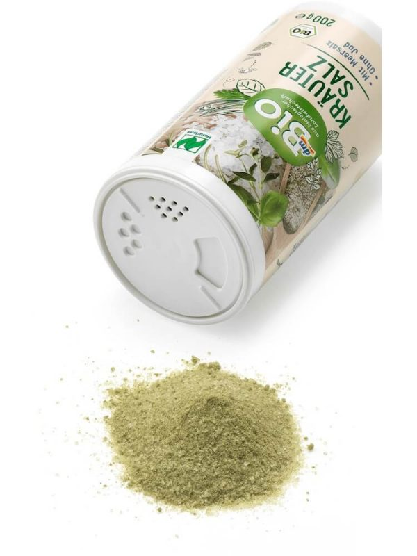 Muối không iot dmBio thảo dược hữu cơ