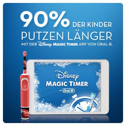 Bàn chải điện Oral B Kids ứng dụng Magic Time