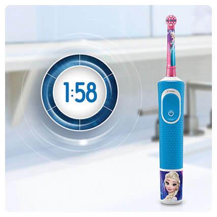 Bàn chải điện Oral B Kids tích hợp chế độ đánh 2 phút