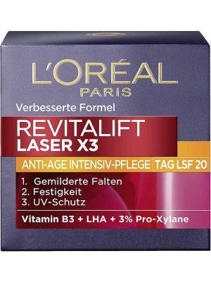 Kem Dưỡng Da Loreal Revitalift Laser X3 Tag LSF 20 ban ngày, 50 ml