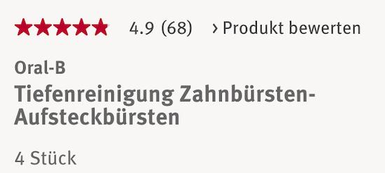 Sản phẩm được người dùng Đức đánh giá rất cao