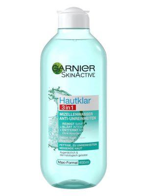 Nước tẩy trang Garnier cho da nhờn mụn