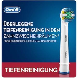 Bàn chải Oral B Tiefenreinigung làm sạch sâu không gian kẽ răng