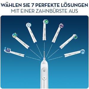 Oral B với nhiều lựa chọn đầu bàn chải