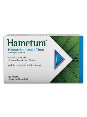 Thuốc trĩ Hametum dạng viên đặt, 10 viên