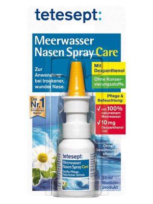 Xịt mũi muối biển Tetesept Meerwasser Nasen Spray Care