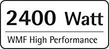 Với công suất 2400W