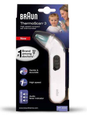 Nhiệt kế hồng ngoại đo tai Braun ThermoScan 3