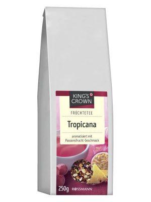 Trà Hoa Quả Khô King's Crown Tropicana Hương Vị Chanh Dây, 250 g