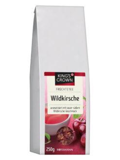 Trà hoa quả khô King's Crown Wildkirsche hương vị cherry, 250g