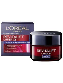 Kem Dưỡng Da Loreal Revitalift Laser X3 Nacht ban đêm, 50 ml