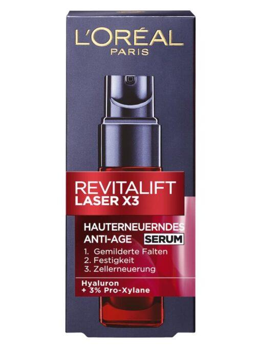 Huyết thanh Loreal Loreal Revitalift Laser X3 Serum, 30ml
