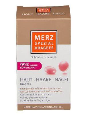 Thuốc da tóc móng Merz Spezial Dragees Haut Haare Nagel, 120 Viên