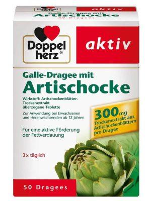 Thuốc bổ gan Doppelherz Aktiv Artischocke