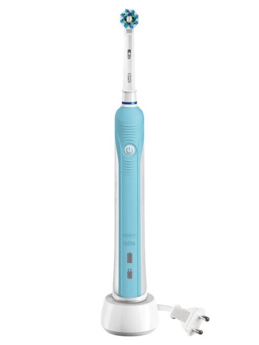 Bàn chải điện Oral B Pro 700 3D Cross Action