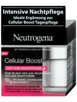 Kem dưỡng da Neutrogena Cellular Boost Anti Age Nachtpflege chống lão hoá ban đêm, 50ml