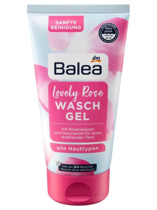 Sữa rửa mặt Balea Lovely Rose Waschgel, 150ml